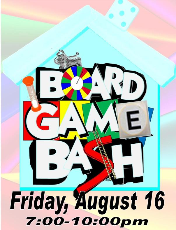 Board Game Bash Announcement